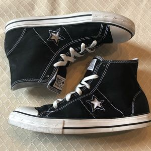 Converse 'one star' High Tops